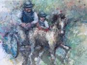 FARM SHOW HORSE RACE