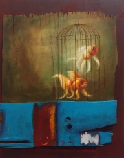 FISH CAGE -SOLD