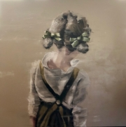 GIRL WITH GREEN RIBBONS