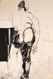 RELEASE FROM THE VAULT, DRAWING #1, 1960
