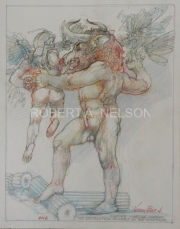 THE DESTRUCTION OF ICARUS BY THE MINOTAUR,  2012