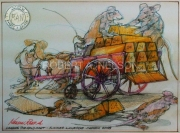 LOADING THE GOLD CART, 2008 - SOLD