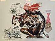 HOMAGE TO BURROWS SERIES (Nelson Necktie Series), 1970