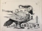 EDISON'S BIRD, c. 1970-80  Lithograph - Artist Proof  28 x 38 $1,400.