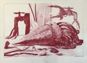 RED CONE, 1979 Lithograph - 2:6 28 x 38 $1,300.