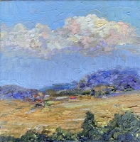 Alan Fetterman |  Colors of Clouds |  Oil on linen |  10 x 10 |  $2,100.