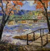 Alan Fetterman |  Colors of Home |  Oil on linen |  24 x 24 |  $5,800.