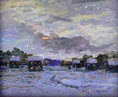 Alan Fetterman |  Winter Solstice|  Oil on linen |  10 x 12 |  $2,300.