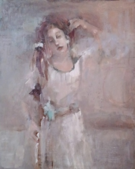 Ann Rudd  |  Daydreamer  |  Oil on canvas |  20 x 16 |  $450.