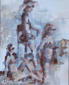 Ann Rudd  Timeless Summer  Oil   30x24  $550.