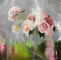 Carl White |  Garden, 2020 |  Oil on board |  20 x 20 |  $2,500.