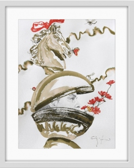 Carlos Gamez De Francisco  |  Home Decor V |  Watercolor, pencil on paper |  30 x 22 - 39 x 31 f |  $3,200.