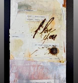 Carl White |   This particular self |   10 x 5.5 |   $150.