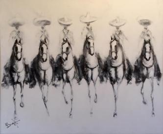 David Silvah |  Bosquejos  |  Acrylic on Canvas  |  54 x 65  |  SOLD