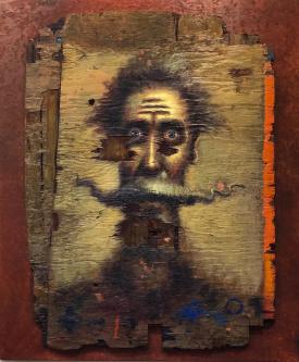 David Silvah |  Quixote WoW |  Acrylic on Wood |  48 x 42 |  $2,500. SOLD