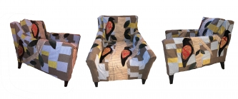 Eric Fausnacht |  Red-winged Blackbird Chair |   $1200.