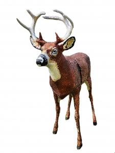 Eric Fausnacht |  Jewel Buck Bar |  Rhinestones over form |  60 x 60 |  $4,000.