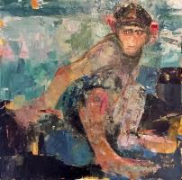 Gini Illick | In the Trees|  Oil On Canvas  | Inquire