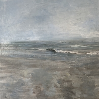 Gregory Prestegord  |  Solace |  Oil on canvas |  30 x 30  |  $6,000. Inquire