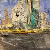 Gregory Prestegord  |  Movement  |  Oil on canvas |  24 x 24  |  $4,500.