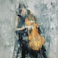Gregory Prestegord |  Bach II  |  Oil on panel |  6x8 |  $700.