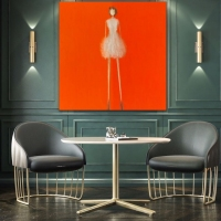 Rene' Romero Schuler |  Bridget |  Oil on canvas |  60 x 60 |  $17,000.