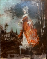 James Doherty |  After Sir Joshua Reynolds |  Oil on wood panel  |  48 x 36  |  SOLD