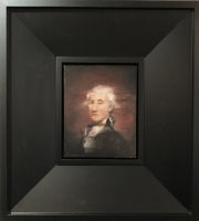 James Doherty |  George |  Oil and cold wax on on panel |  10 x 8 - 23 x 20.5 f |  $1,900.