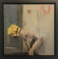 James Doherty  |  2020 | Oil and cold wax on panel |  12 x 12 - 14 x 14 f |  $1,600.