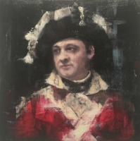 James Doherty |  David 17th REGIMENT |  Oil on wood panel  |  14 x 14 |  SOLD