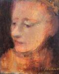 James Feehan AMISH ANGEL Oil and wax 10  x  8 $750.