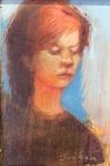 James Feehan PIETRA Oil and wax 4 3/4 x 3 1/4 $375.