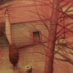 James Feehan THE MILL Pencil 22 x 33 $2200.