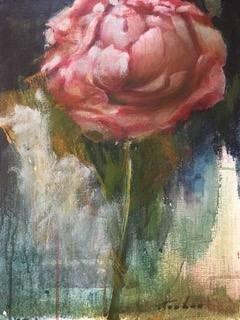 James Feehan  |  Peony |  Oil and wax  |  14 x 11  |  $700.