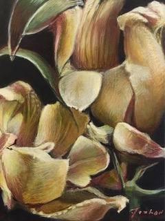 James Feehan  |  Elegant Neutrals |  Oil and wax  |  10 x 8  |  $800.