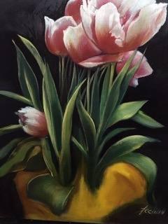 James Feehan  |  Seance |  Oil and wax  |  20 x 16  |  $1,600.