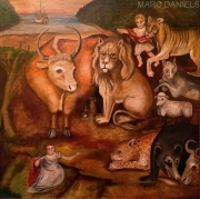 HICK BABY AND ANIMALS  SOLD