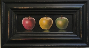 THREE APPLES - SOLD