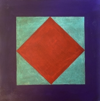 Tim Ray Fisher |  Untitled 19 |  Acrylic |  12 x 12 |  $125.