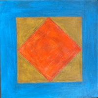 Tim Ray Fisher |  Untitled 21 |  Acrylic |  12 x 12 |  $125.