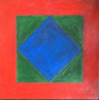 Tim Ray Fisher |  Untitled 22 |  Acrylic |  12 x 12 |  $125.