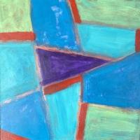 Tim Ray Fisher |  Untitled 10 |  Acrylic |  12 x 12 |  $125.