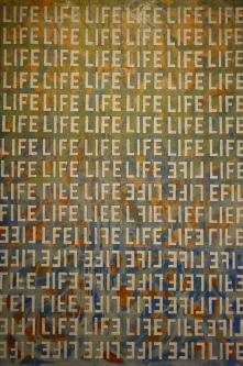 Marlin Bert |  1 LIFE |  Acrylic |  36x24 |  $1,800.