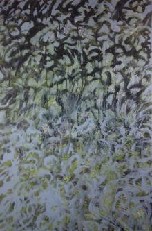 Marlin Bert |  Migration |  Acrylic |  36 x 24 |  $1,800.