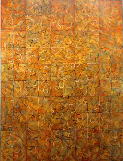 Marlin Bert |  LIFE  out of Balance |  Acrylic |  40 X 30  |  $2,000.