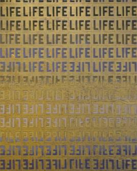 Marlin Bert |  Green LIFE |  Acrylic |  30 x 24 |  $1,800. SOLD