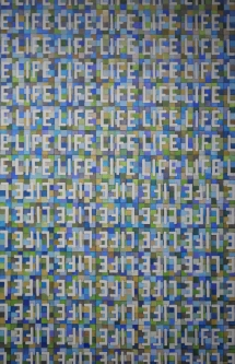 Marlin Bert |   LIFE  21 |  Acrylic |  36 x 24 |  $2,000.