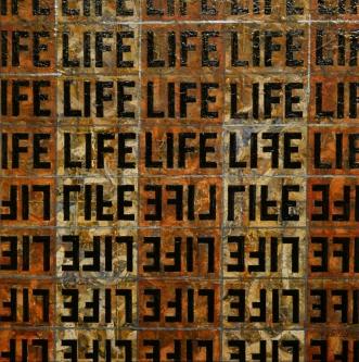Marlin Bert |  LIFE on Earth  |  Acrylic |  18 x 18 |  $900.