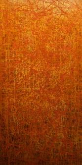 Marlin Bert |  Manhattan |  Acrylic |  48 x 24 |  $2,000.