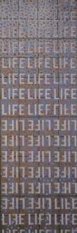 Marlin Bert |  Silver LIFE  |  Acrylic |  37 x 13 |  $1,400.
